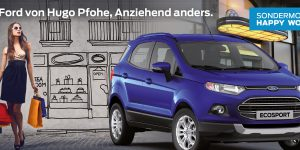 Ford EcoSport HAPPY WOMAN