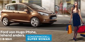 FORD B-MAX SUPER WOMAN