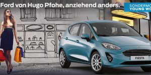 DER NEUE FORD FIESTA YOUNG WOMAN
